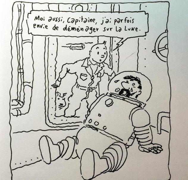 Tintin attentats Bruxelles
