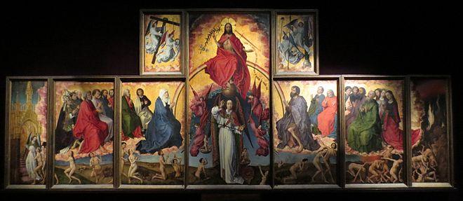 Jugement dernier Van der Weyden